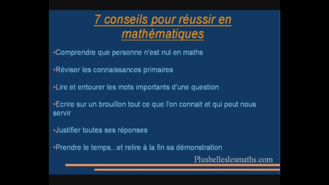 progresser en maths