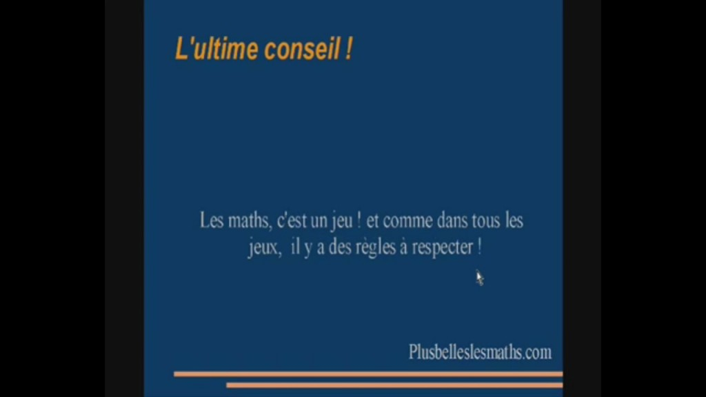ultime conseil
