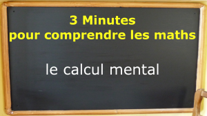 miniature le calcul mental