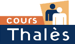 cours thales